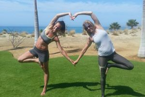 Yoga Retreat Secrets Puerto Los Cabos - Heart Shape Fun! Calgary travel vacation experience with a group of people. Get out of town to enjoy the sunshine, daily meals, yoga classes, and accommodation.